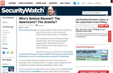 http://securitywatch.pcmag.com/hacking/283762-who-s-behind-stuxnet-the-americans-the-israelis#fbid=IEm-_yVVopw