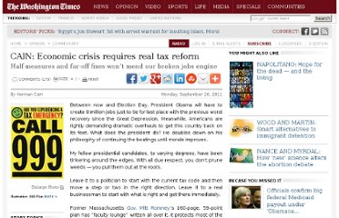 http://www.washingtontimes.com/news/2011/sep/26/economic-crisis-requires-real-tax-reform/#.ToGnPPUkQ9g.twitter