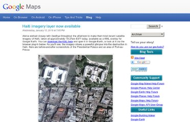 http://google-latlong.blogspot.com/2010/01/haiti-imagery-layer-now-available.html