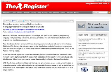 http://www.theregister.co.uk/2011/09/27/revolution_r_hadoop_integration/