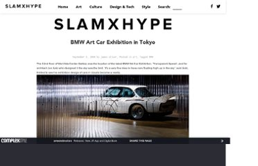 http://slamxhype.com/art-design/bmw-art-car-exhibition-in-tokyo/
