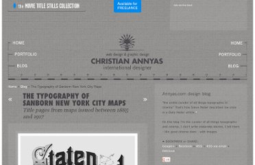 http://annyas.com/typography-of-sanborn-new-york-city-maps/