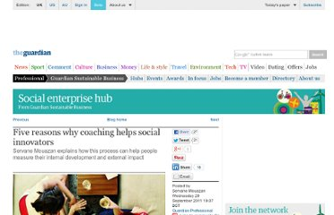 http://www.guardian.co.uk/social-enterprise-network/2011/sep/28/coaching-help-social-innovators
