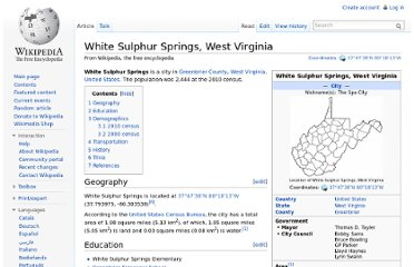 http://en.wikipedia.org/wiki/White_Sulphur_Springs,_West_Virginia