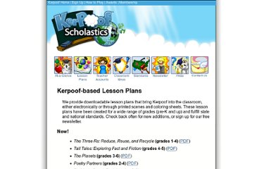 http://www.kerpoof.com/teach?c=lesson_plans