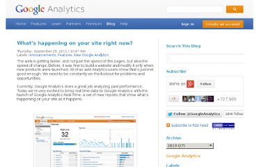 http://analytics.blogspot.com/2011/09/whats-happening-on-your-site-right-now.html