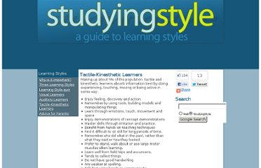 http://studyingstyle.com/tactile-kinesthetic-learners.html