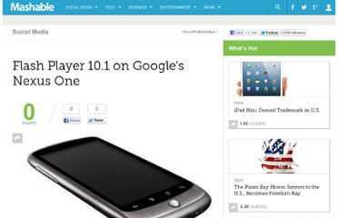 http://mashable.com/2010/01/06/flash-player-10-1-nexus-one/
