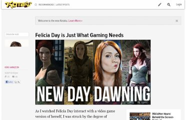 http://kotaku.com/5844909/felicia-day-is-just-what-gaming-needs