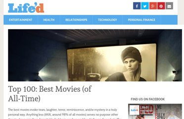 http://www.lifed.com/top-100-best-movies-of-all-time