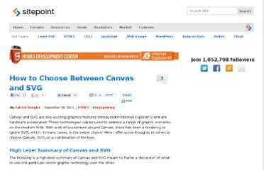 http://www.sitepoint.com/how-to-choose-between-canvas-and-svg/