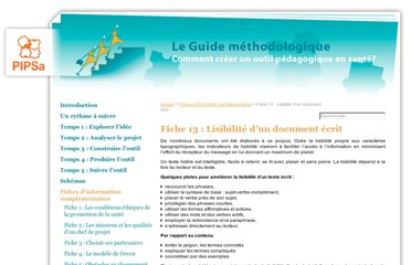 http://www.creerunoutil.be/-Fiche-13-Lisibilite-d-un-document-