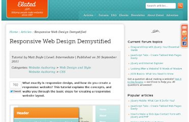 http://www.elated.com/articles/responsive-web-design-demystified/