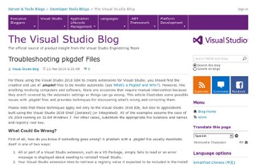 http://blogs.msdn.com/b/visualstudio/archive/2010/03/22/troubleshooting-pkgdef-files.aspx