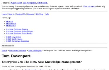 http://blogs.hbr.org/davenport/2008/02/enterprise_20_the_new_new_know_1.html