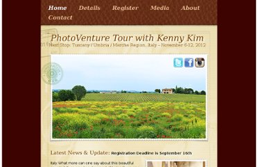 http://store.kennykim.com/italy/Kenny_Kim_Italy_Workshop/Home.html