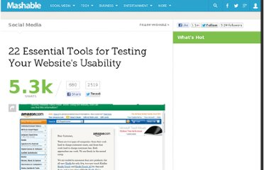 http://mashable.com/2011/09/30/website-usability-tools/