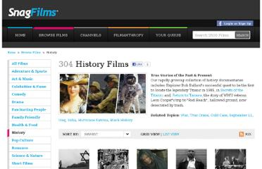 http://www.snagfilms.com/films/browse/category/history