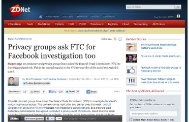 http://www.zdnet.com/blog/facebook/privacy-groups-ask-ftc-for-facebook-investigation-too/4282