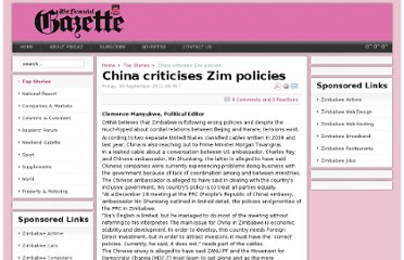 http://www.financialgazette.co.zw/top-stories/10083-china-criticises-zim-policies.html