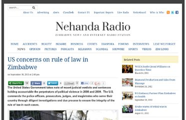 http://nehandaradio.com/2011/09/30/us-concerns-on-rule-of-law-in-zimbabwe/
