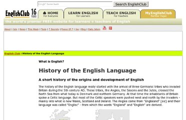 http://www.englishclub.com/english-language-history.htm