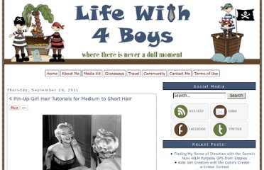 http://www.lifewith4boys.com/2011/09/4-pin-up-girl-hair-tutorials-for-medium.html