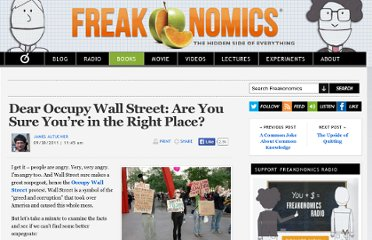 http://www.freakonomics.com/2011/09/30/dear-occupy-wall-street-are-you-sure-youre-in-the-right-place/