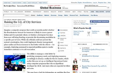 http://www.nytimes.com/2011/09/30/business/global/raising-the-iq-of-city-services.html?ref=global