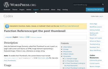 http://codex.wordpress.org/Function_Reference/get_the_post_thumbnail
