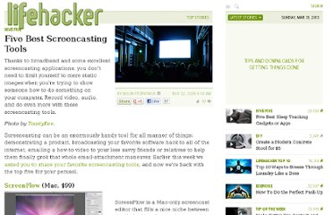 http://lifehacker.com/5410229/five-best-screencasting-tools