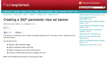 http://flashexplained.com/banners/creating-a-360%c2%b0-panoramic-view-ad-banner/