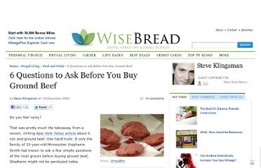 http://www.wisebread.com/6-questions-to-ask-before-you-buy-ground-beef