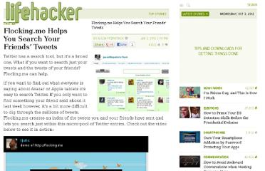 http://lifehacker.com/5438822/flockingme-helps-you-search-your-friends-tweets