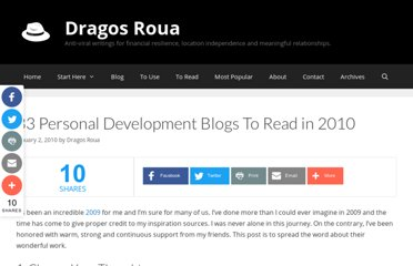 http://www.dragosroua.com/33-blogs-to-read-in-2010-2/