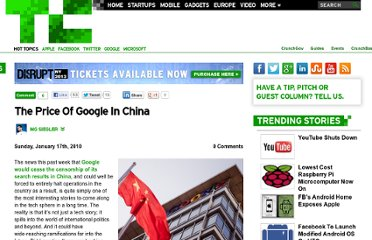http://techcrunch.com/2010/01/17/the-price-of-google-in-china/