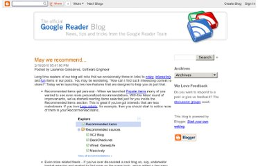 http://googlereader.blogspot.com/2010/02/may-we-recommend.html