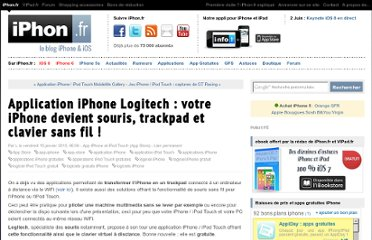 http://www.iphon.fr/post/2010/01/14/Application-iPhone-Logitech-%3A-votre-iPhone-devient-souris-et-clavier-sans-fil-%21