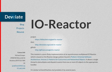 http://deveiate.org/projects/IO-Reactor