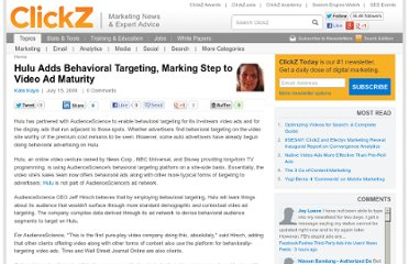 http://www.clickz.com/clickz/news/1700518/hulu-adds-behavioral-targeting-marking-step-video-ad-maturity