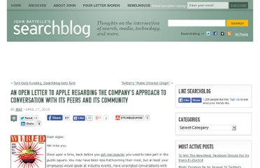http://battellemedia.com/archives/2010/04/_an_open_letter_to_apple_regarding_the_companys_approach_to_conversation_with_its_peers_and_its_community.php