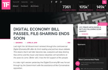 http://torrentfreak.com/digital-economy-bill-passes-file-sharing-end-soon-100608/?awesm=53MTD