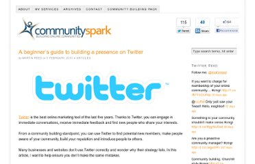 http://www.communityspark.com/a-beginners-guide-to-building-a-presence-on-twitter/