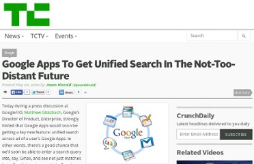 http://techcrunch.com/2010/05/20/google-apps-to-get-unified-search-in-the-not-too-distant-future/