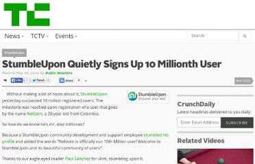 http://techcrunch.com/2010/05/18/stumbleupon-10-million/
