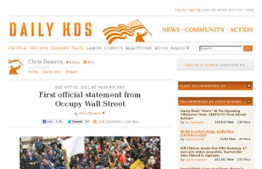 http://www.dailykos.com/story/2011/10/01/1021956/-First-official-statement-from-Occupy-Wall-Street