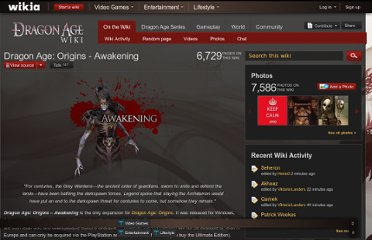 http://dragonage.wikia.com/wiki/Dragon_Age:_Origins_-_Awakening
