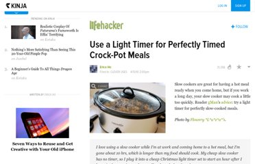 http://lifehacker.com/5516337/use-a-light-timer-for-perfectly-timed-crock+pot-meals