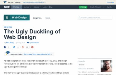 http://webdesign.tutsplus.com/articles/general/the-ugly-duckling-of-web-design/