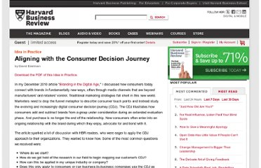 http://hbr.org/web/ideas-in-practice/aligning-with-the-consumer-decision-journey